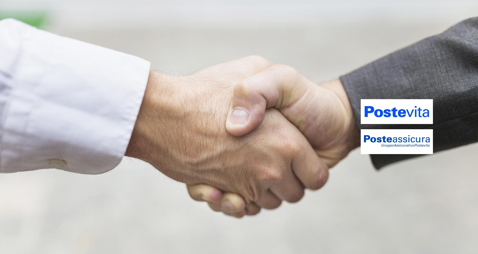 <span>Convenzione con POSTEVITA , POSTEASSICURA, POSTECOLLETTIVE